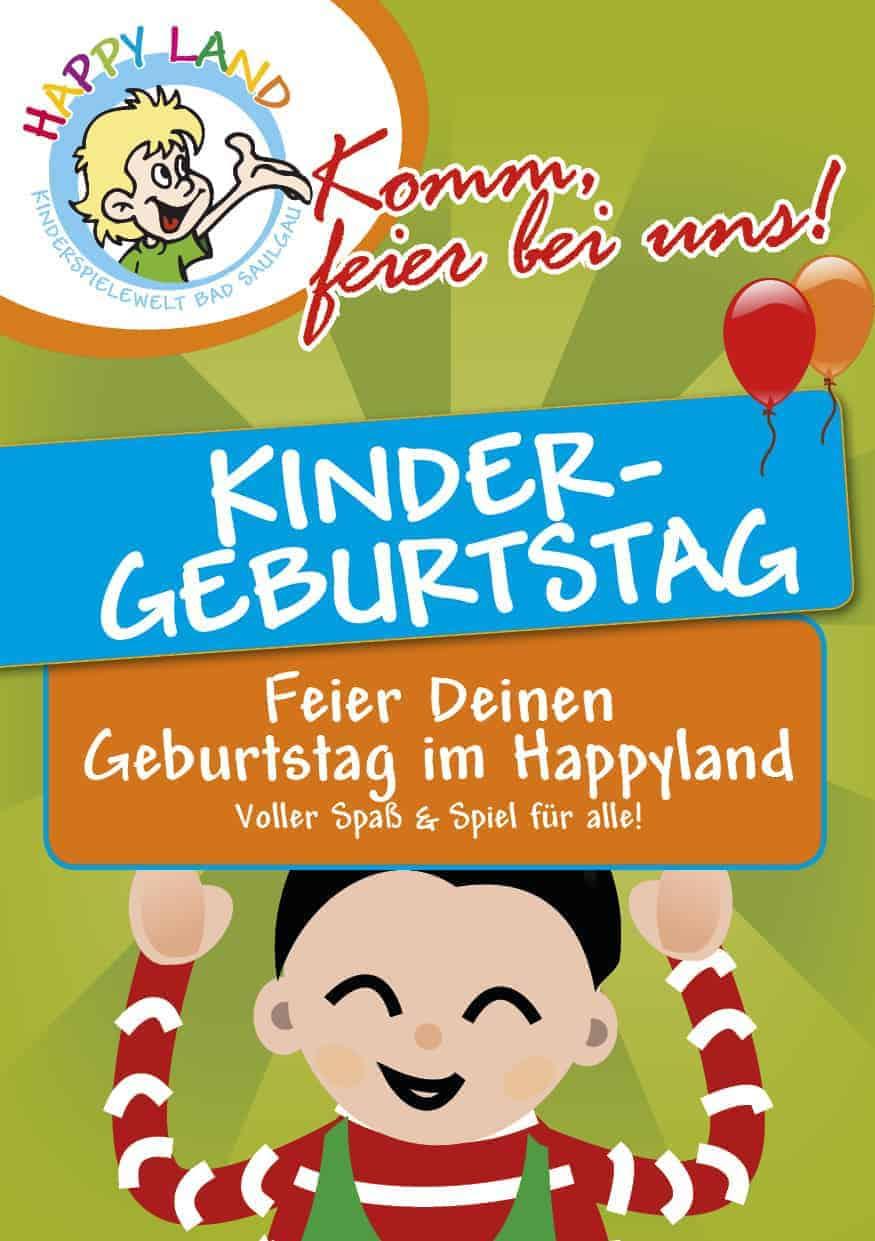 Kindergeburtstage im Happyland