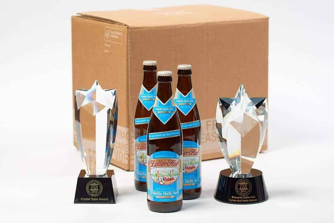 Brauerei Zoller-Hof – Fidelis Hefe-Weizen hell Box